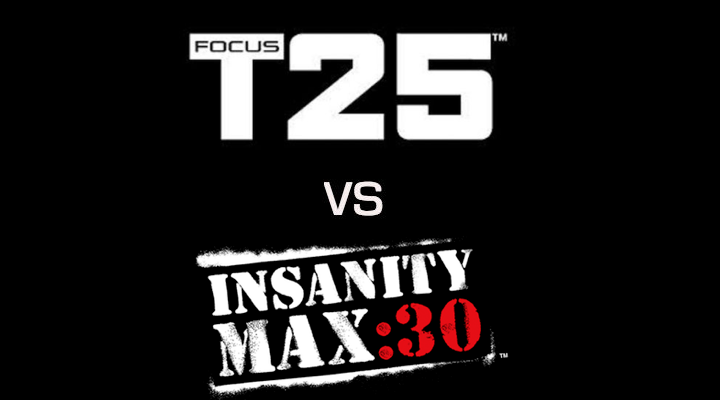 We've Analyzed Focus T25 vs Insanity Max 30: Which One is